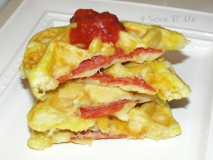 Pizza Pocket Waffles