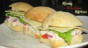Fiesta Tuna Salad Sliders