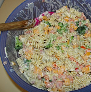 Ranch Veggie Pasta Salad