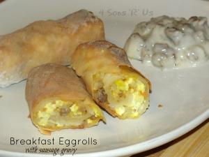 Breakfast Eggrolls