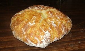 No Knead Crusty Artisan Bread 2