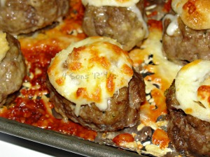 Ooey, Gooey Cheesy Meatballs 2