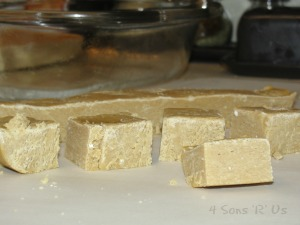 Gingerbread Cookie Dough Fudge 2
