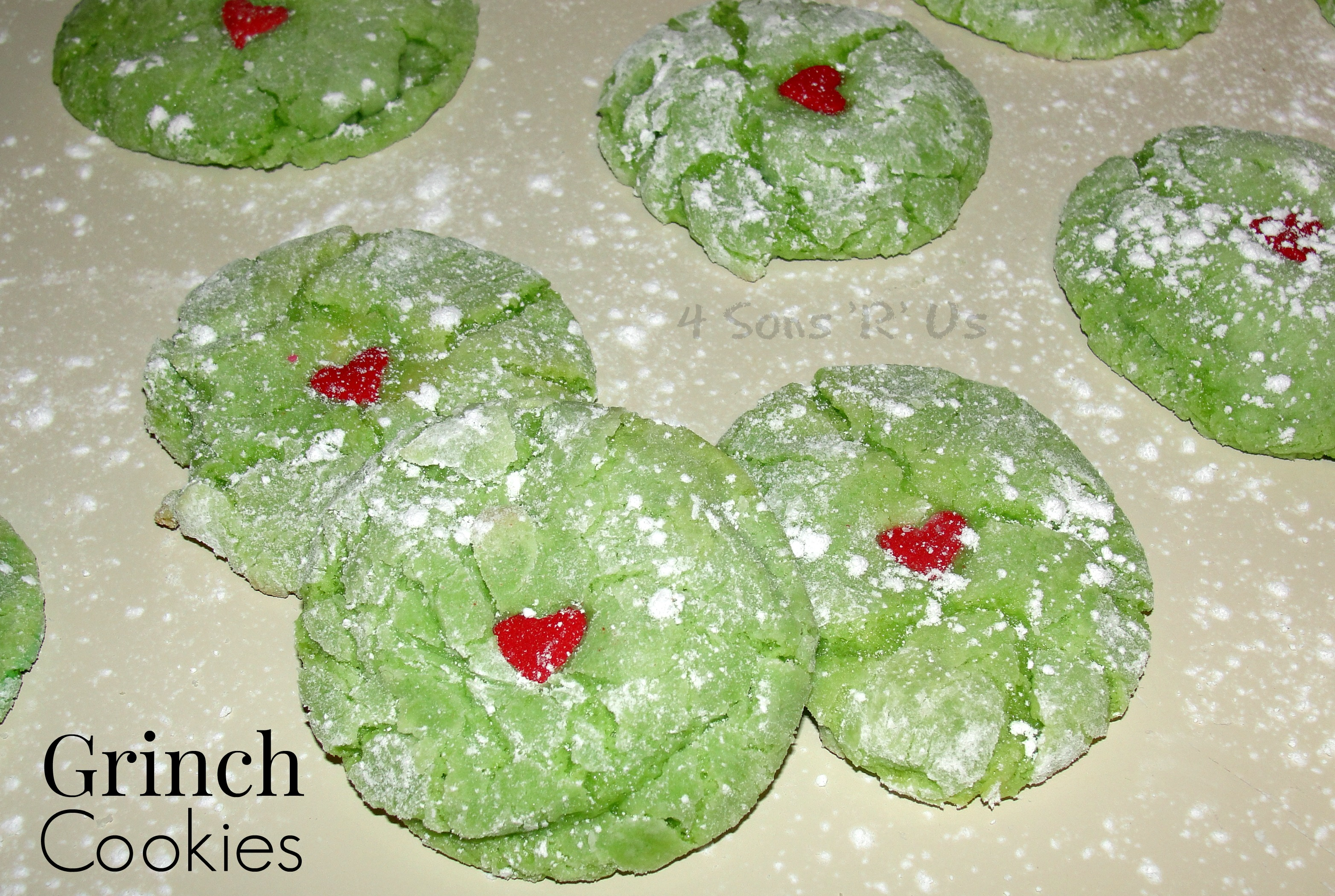 Grinch Cookies 4 Sons R Us