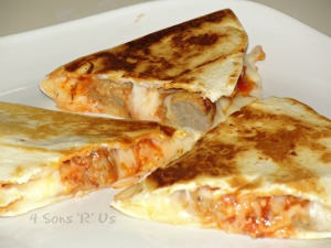 Meatball Quesadillas 2