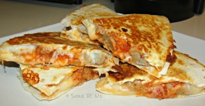 Meatball Quesadillas 3