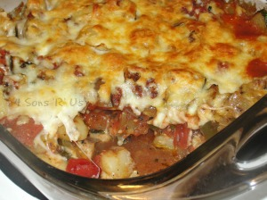 Baked Gnocchi with Zucchini & Tomatoes 2