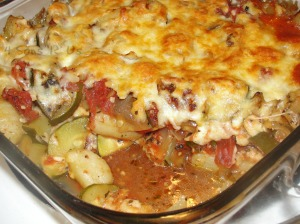 Baked Gnocchi with Zucchini & Tomatoes 3
