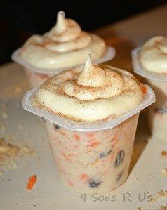 carrot cake pudding cups 3