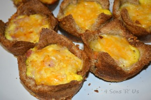 Ham, Egg, & Cheese Toast Cups 3
