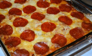 Meatlover's Pizza Casserole