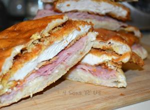 Chicken Cordon Bleu Paninis 2