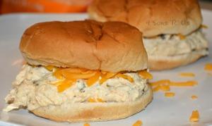 Crockpot Crack Chicken Sandwiches 2