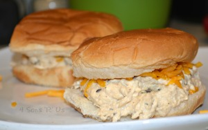 Crockpot Crack Chicken Sandwiches 3