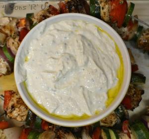 Grilled Greek Chicken Kabobs 4