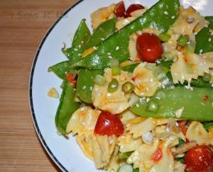 Sesame Ginger Pasta Salad
