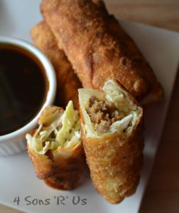 Crispy Homemade Egg Rolls 6