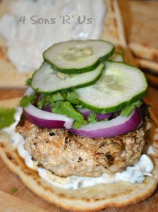 Grilled Chicken Tandoori Burgers 4