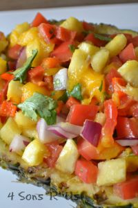 Pineapple Mango Salsa 3