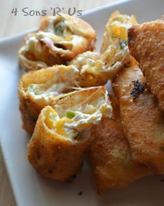 Mini Jalapeno Popper Egg Rolls 3