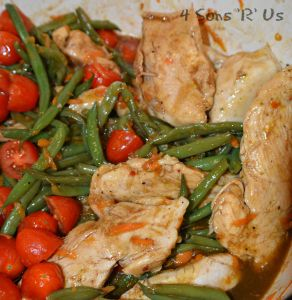 One Pot Balsamic Chicken & Veggies