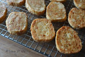 Savory White Cheddar Short Bread 2