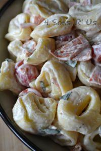 Tortellini & Pepperoni Pasta Salad 3