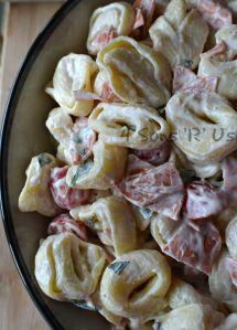 Tortellini & Pepperoni Pasta Salad