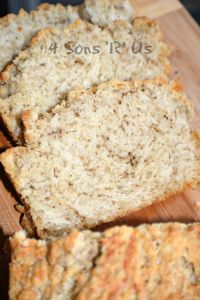 Black Pepper Parmesan Beer Bread 2