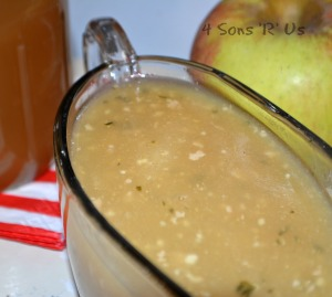 Apple Cider Gravy 2