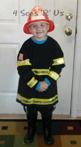 DIY Fireman Costume 3