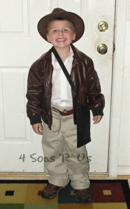 DIY Indiana Jones Costume 2