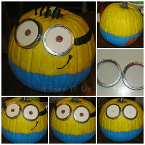 minion pumpkin tutorial