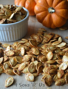 Cajun Spiced Roasted Pumpkin Seeds 2