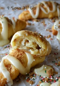 White Chocolate Gingerbread Crescent Rolls 3